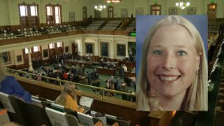She was murdered by someone she loved and trusted. Now more than two decades later, the story of a Grand Prairie teenager is the inspiration behind legislation aimed at protecting young Texans from domestic and dating violence. Here's NBC 5's Allie Spillyards.