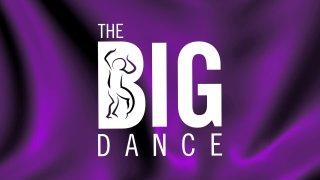 Dallas Black Dance Theatre's The Big Dance Logo over purple background