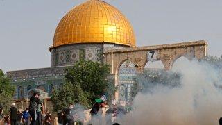 PALESTINIAN-ISRAEL-CONFLICT-AQSA