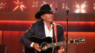 Singer-songwriter George Strait performs onstage during the 11th Annual ACM Honors at the Ryman Auditorium on August 23, 2017 in Nashville, Tennessee.