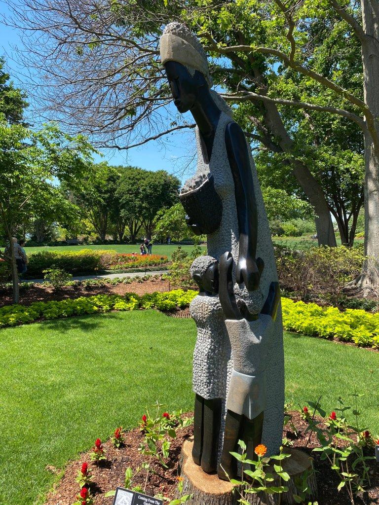 Coming in from the Garden Dallas Arboretum ZimSculpt