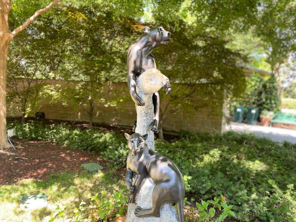 Dallas Arboretum Black Panther ZimSculpt