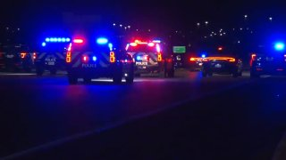 Two people were killed in a fiery crash Friday night that Fort Worth police say may have involved an intoxicated driver.