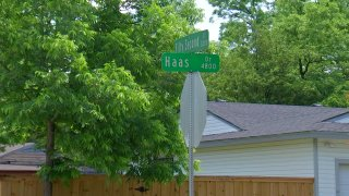 The bodies of two people were found in a home in east Oak Cliff early Saturday, Dallas police say.