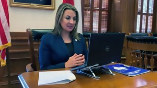 Texas Secretary of State Ruth Ruggero Hughs advocates for the approval of the Border Transportation Master Plan by the TxDOT Transportation Commission on March 25, 2021.