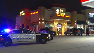 One person was fatally shot Tuesday after following an altercation with an armed security guard outside a southeast Dallas gas station in the 100 block of North Jim Miller Road, police say.