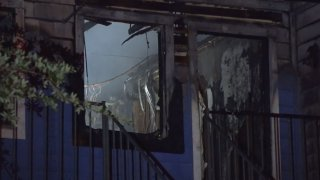A fire at a northeast Dallas apartment complex early Sunday morning damaged five units, according to Dallas Fire-Rescue.