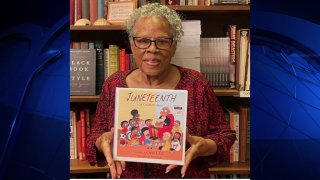 """North Texas trailblazer Opal Lee is doing something good by re-releasing her book, """"Juneteenth: A Children's Story Book."""""""