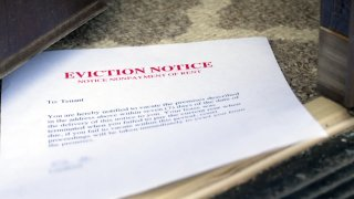 There's more uncertainty tonight for people who've fallen behind on the rent during the pandemic. On Wednesday, a federal judge struck down the national moratorium on evictions. NBC 5's Vince Sims takes a closer look at what it means for North Texans, both tenants and landlords.