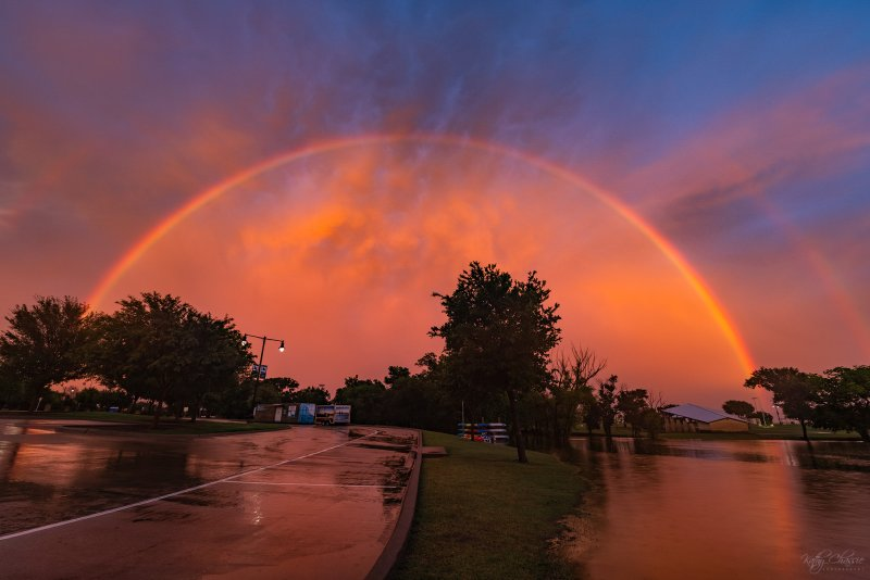 Your Pictures: Rainy May Ends With Beautiful Sunset