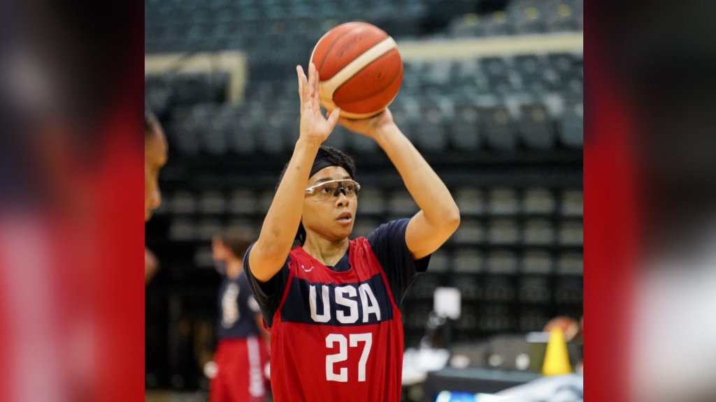 Allisha Gray, guard for the Dallas Wings, will make history as one of the U.S. Olympians on the team for Women's 3x3 basketball.