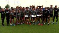 FC Dallas Teen Players Get Surprise Graduation at Practice