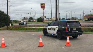 Police in Forest Hill are investigating a shooting involving an officer Wednesday morning.
