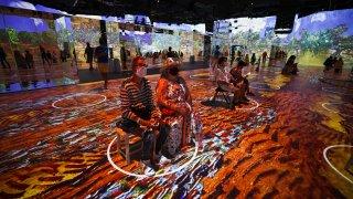 Immersive Van Gogh Exhibit opens in NYC