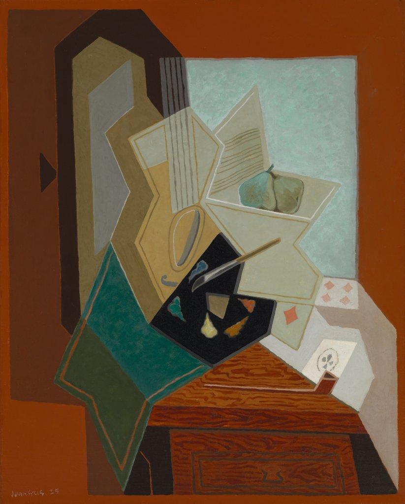 Juan Gris The Painter's Window