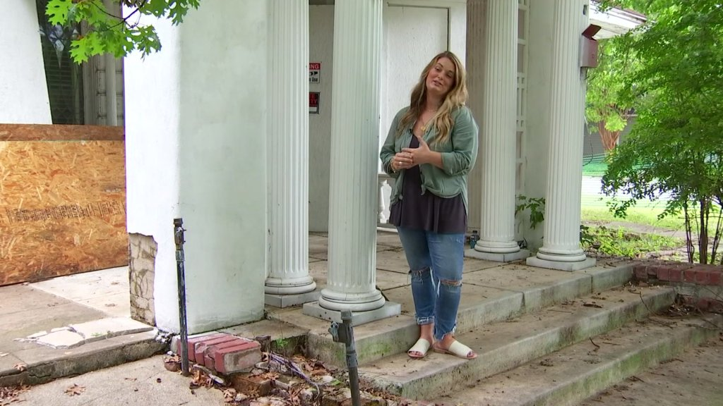 It seems every community has an old home that people have wondered about or dreamed of seeing restored. In McKinney, that's the Wilson house, which now belongs to Malori Hanes.