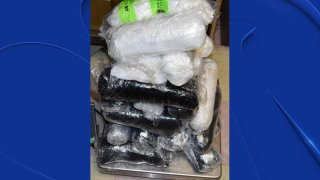 More than $1.7 million worth of methamphetamine is off the streets after being seized by police earlier this month.