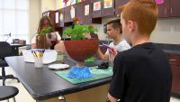 Students Create 'Mindset Art' as They Head to Middle School