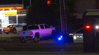 Dallas police are searching for the person suspected of fatally shooting a man Saturday night in far northeast Dallas.