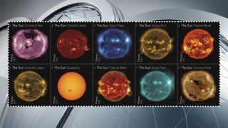 solar stamps
