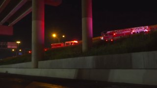 Both the victim and suspected shooter had been driving northbound on I-35E, near Royal Lane, when the suspect drove into the victim's lane and cut him off, police said.