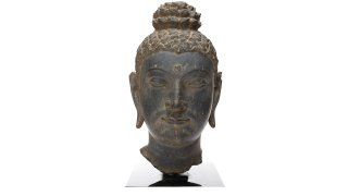 Head of Buddha Kimbell Art Museum