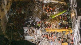 Suzhou Hotel Collapse China