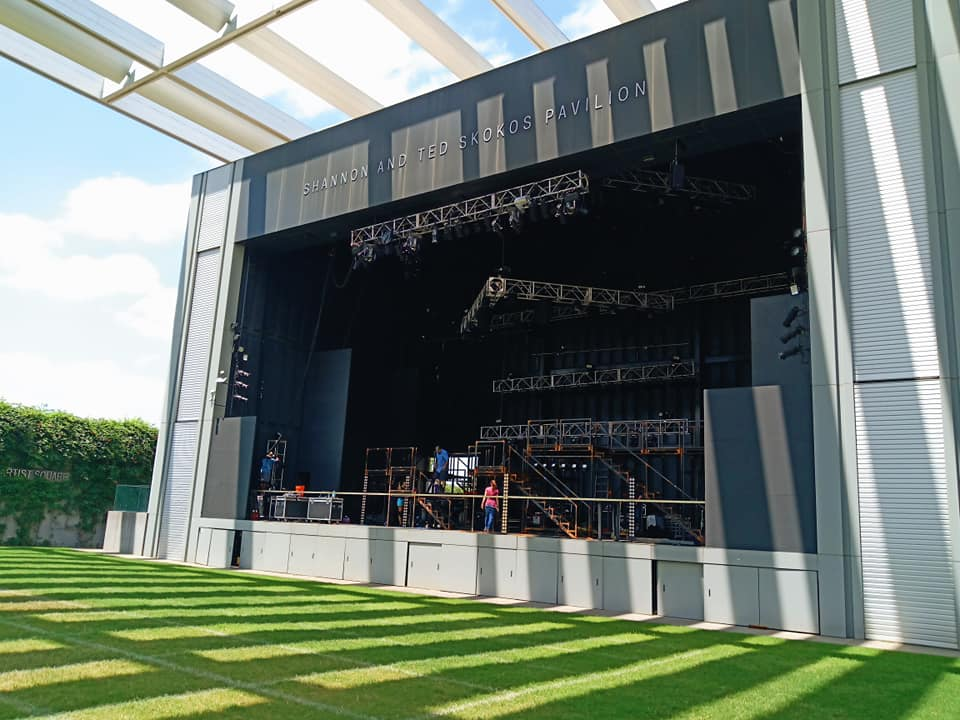 Annette Strauss Square at AT&T Performing Arts Center Dallas Theater Center Working