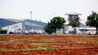 Dolph Briscoe Unit correctional facility in Dilley, Texas