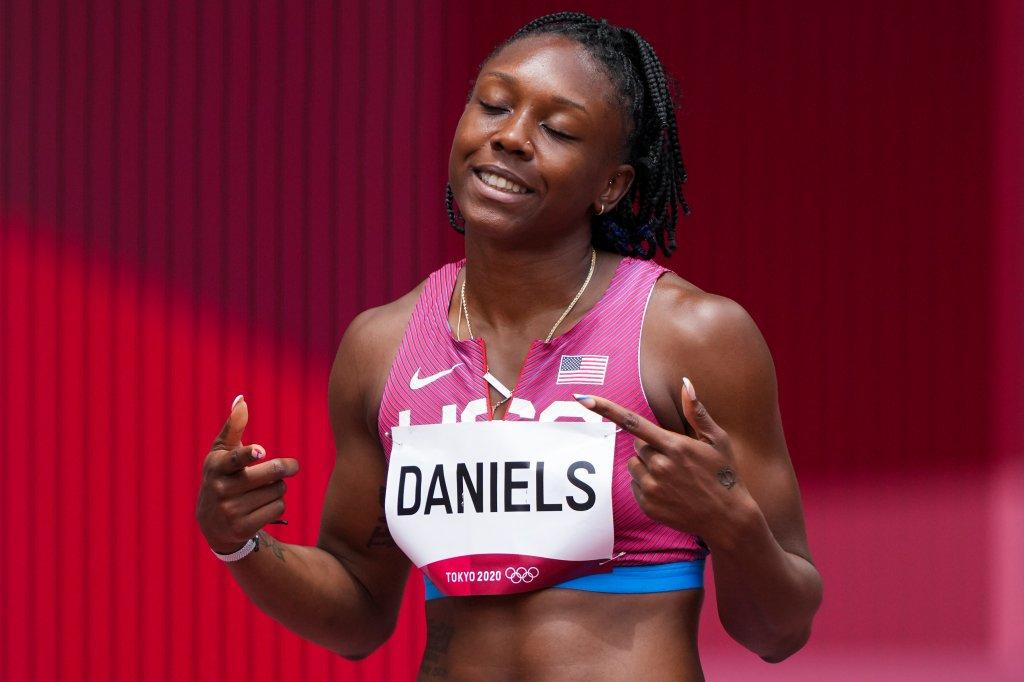 Teahna Daniels smiles
