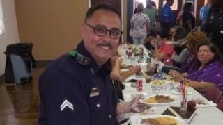 Through prayer, positivity and community, loved ones and colleagues of Sr. Cpl. Arnulfo Pargas remain hopeful that he'll beat COVID-19.