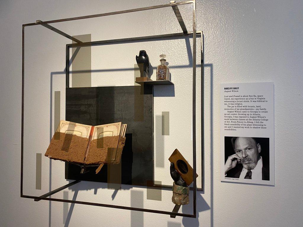 African American Museum Men of Change August Wilson
