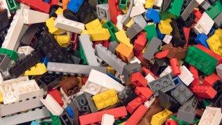 FILE - Lego blocks, Toronto, Ontario, Canada, Feb. 28, 2016.