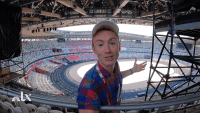 A Behind the Scenes Tour of the Tokyo Olympic Stadium