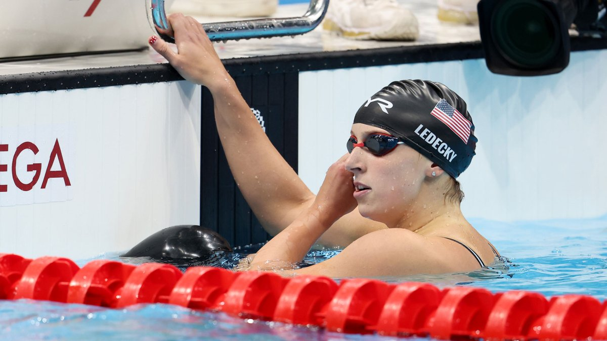 Katie Ledecky Goes for 2 More Golds as 5 Swimming Events to Be Decided