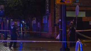 Two people were wounded early Sunday in a shooting at Main and Crowdus streets in the Deep Ellum entertainment district of Dallas, police say.