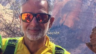 Fred Zalokar is pictured in this photo provided by Yosemite National Park.