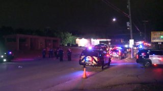 Eight people were shot early Sunday morning near a Fort Worth carwash, police say.