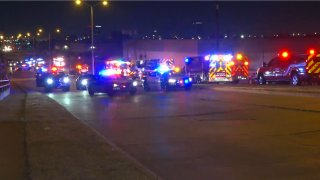 Three people were killed and two people were injured early Saturday morning on West Mockingbird Lane in one of four deadly crashes in Dallas County.