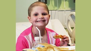 a Wish with Wings child- Hallie