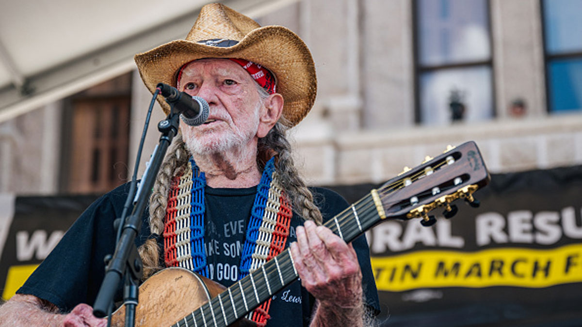 'Vote Them Out': Willie Nelson Headlines Texas Protest Rally