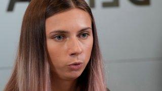 Krystsina Tsimanouskaya,
