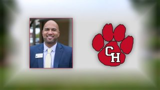 There was a heated debate Monday night over a high school principal in Colleyville.