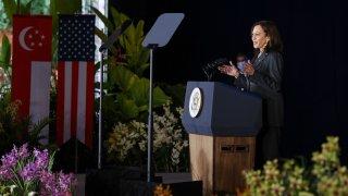 US Vice President Kamala Harris Singapore