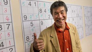 Japanese Sudoku puzzle manufacturer Maki Kaji