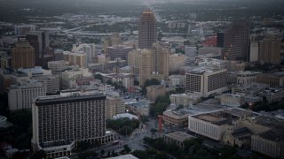 FILE: Buildings stand in the skyline of downtown San Antonio, Texas, U.S., on Thursday, June 5, 2014.