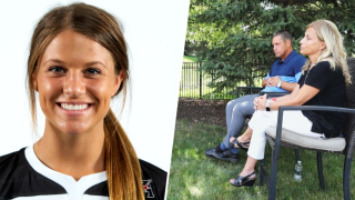 Ally Sidloski (left), Her parents (right).