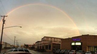Stage West Exterior Rainbow