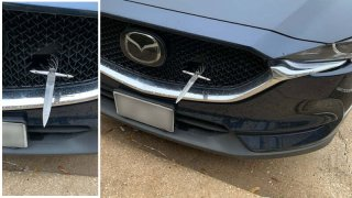 A driver in Southlake was likely stunned to find a dagger pierced through the grille of his car earlier this year.