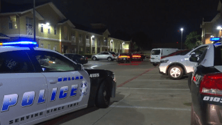 A man was fatally shot Tuesday evening while he sat in his vehicle, Dallas police say.